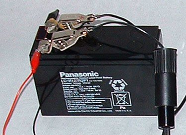 Volts  Battery on 12 Volt Rechargeable Battery This Is A Panasonic Lc R127r2p Sealed