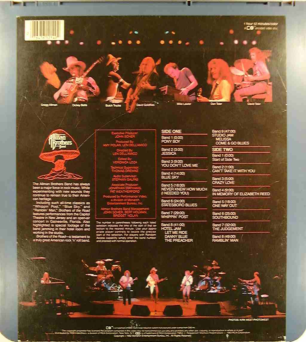 The Allman Brothers Band The Allman Brothers Band At Fillmore East Vol II