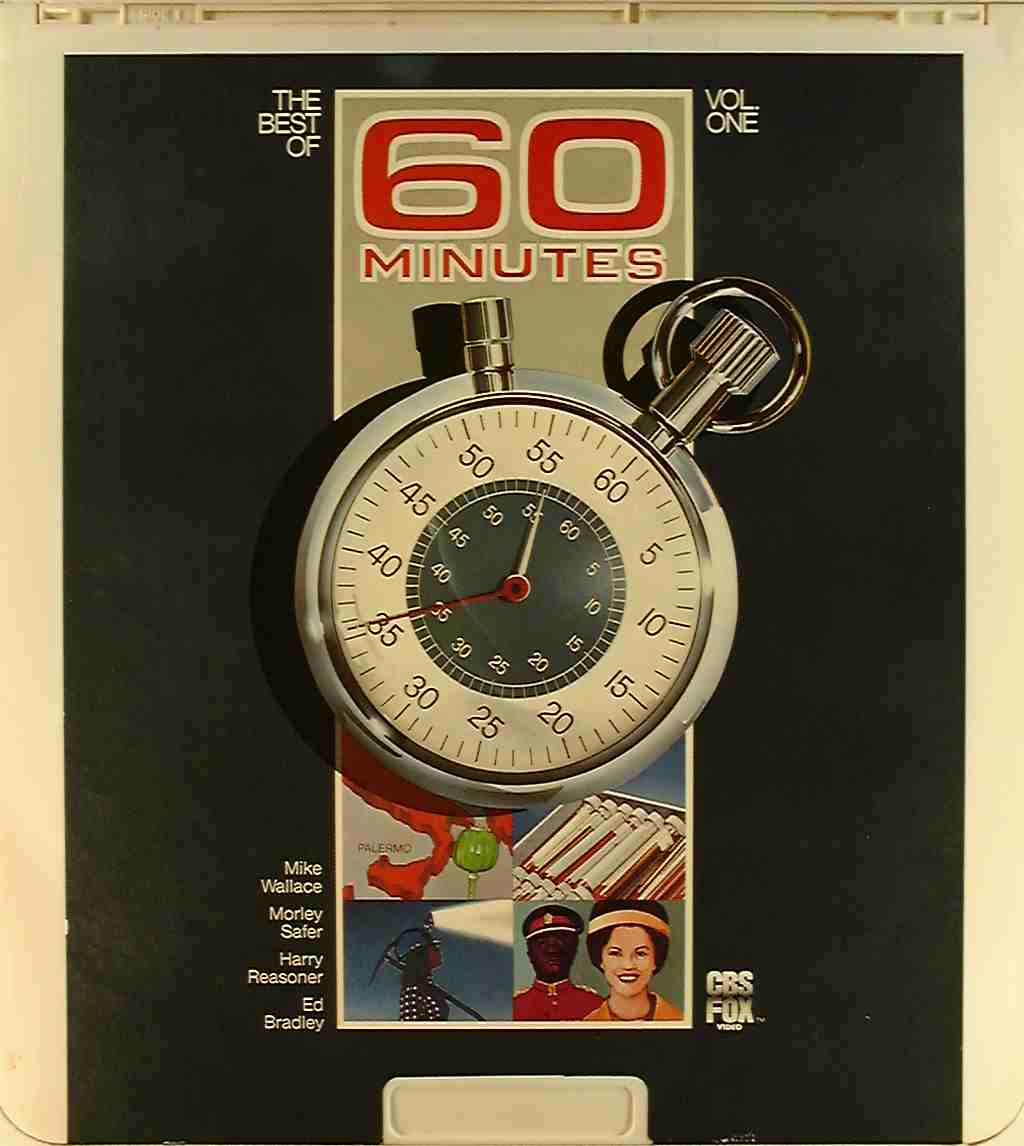 Best of 60 Minutes, Vol. 1 {24543705093} R - Side 1 - CED Title - Blu ...