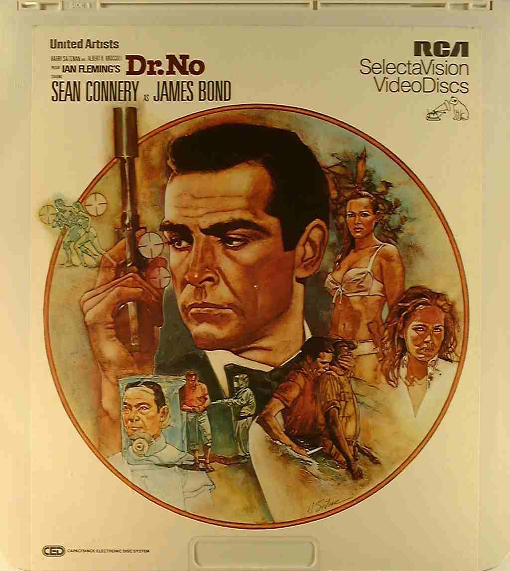 Dr. No [RCA] {76476014261} C - Side 1 - CED Title - Blu-ray DVD Movie Precursor