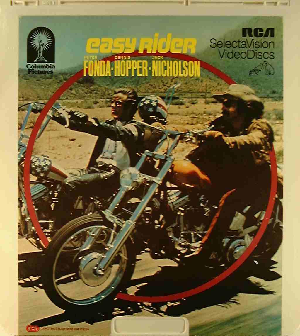 Easy Rider {76476030056} U - Side 1 - CED Title - Blu-ray DVD Movie ... Easy Rider Movie Poster