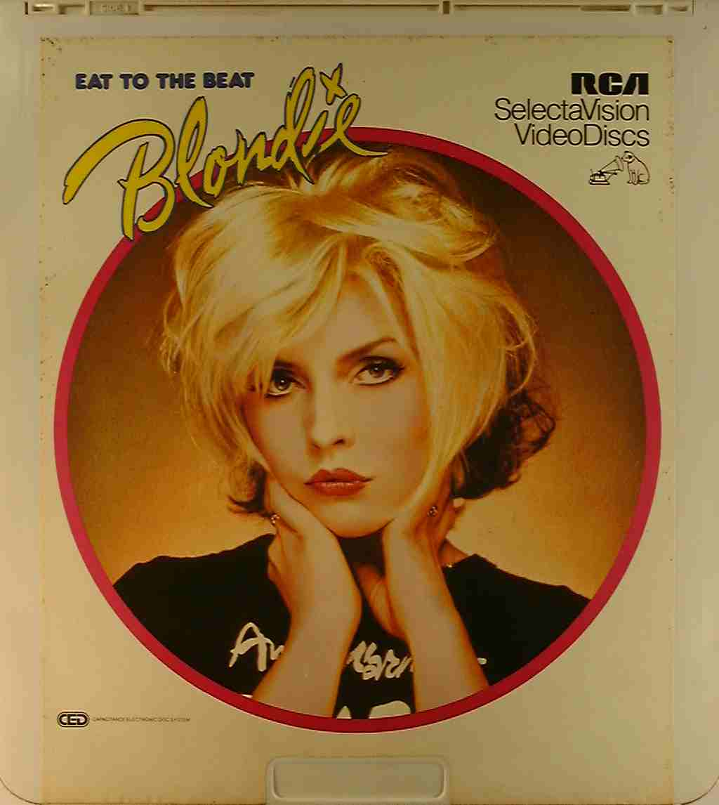 Eat to the Beat-- Blondie {76476020255} U - Side 1 - CED ...