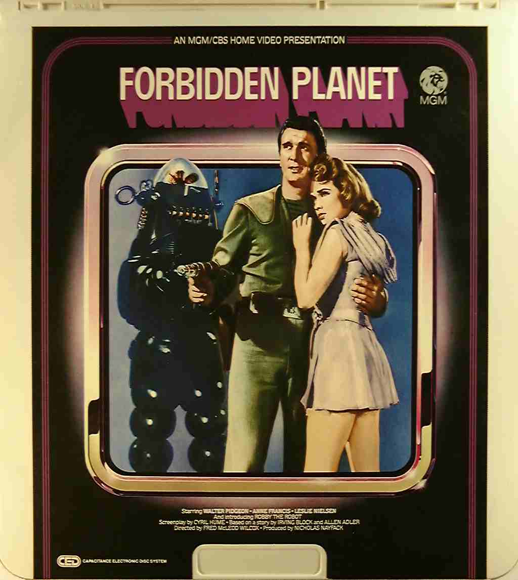 Forbidden Planet Anne Francis