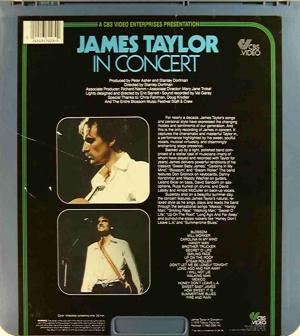 James taylor concert sucks