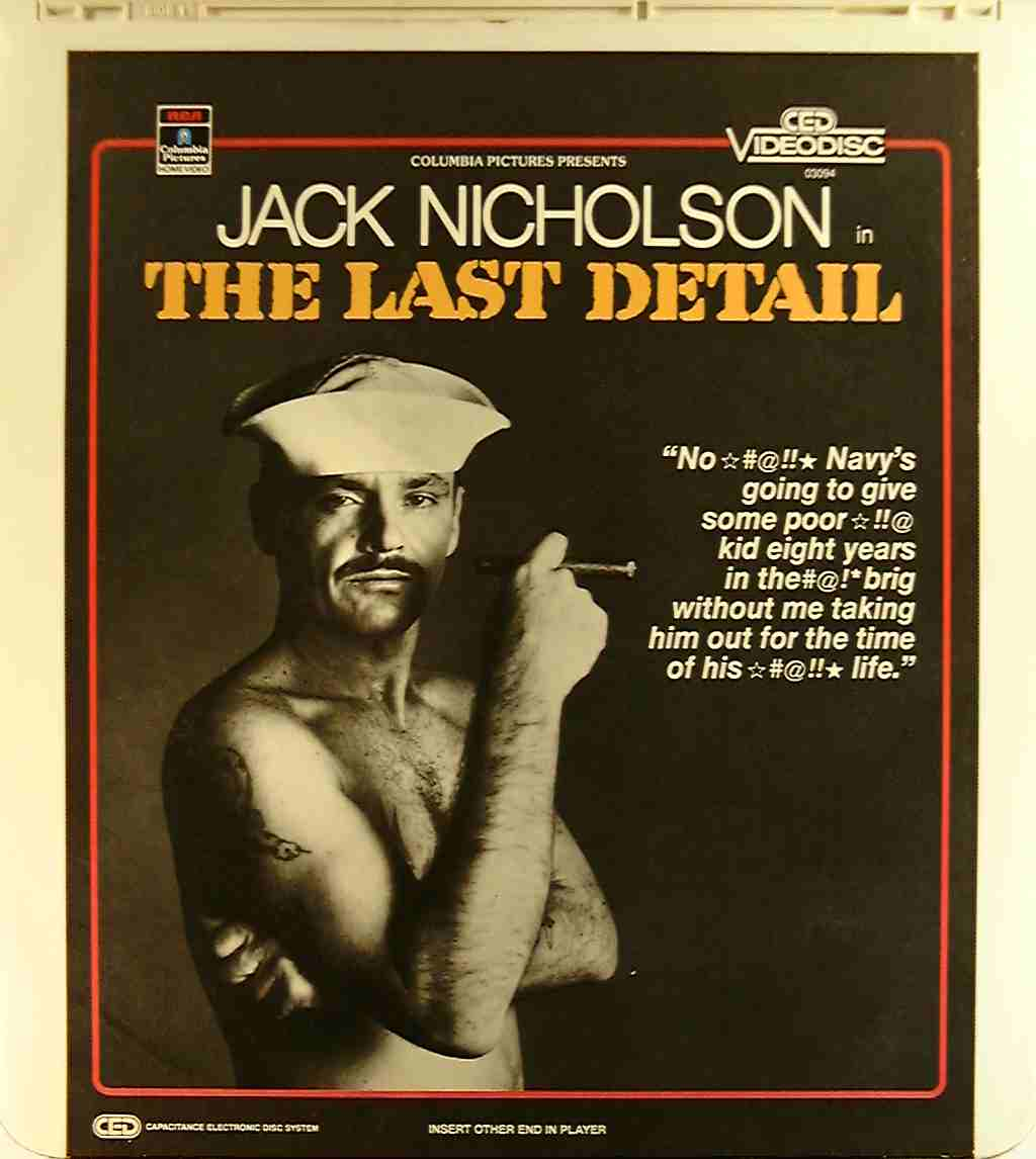 last detail the 76476030940 u side 1 ced title blu ray previous disc side next disc side previous movie title next movie title imdb ced movie titles pre blu ray dvd ced magic home