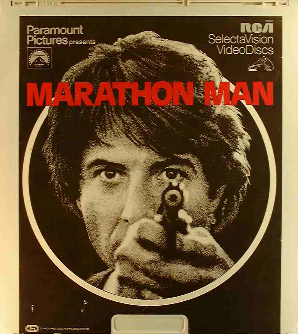 Marathon man 76476006488 u side 1 ced title blu ray dvd ced title precursor to the blu ray dvd movie disc format thecheapjerseys Images