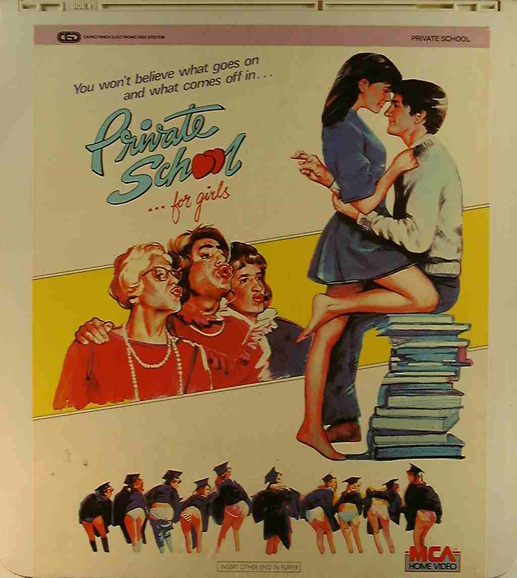 Private School {47897400322} U - Side 1 - CED Title - Blu ...