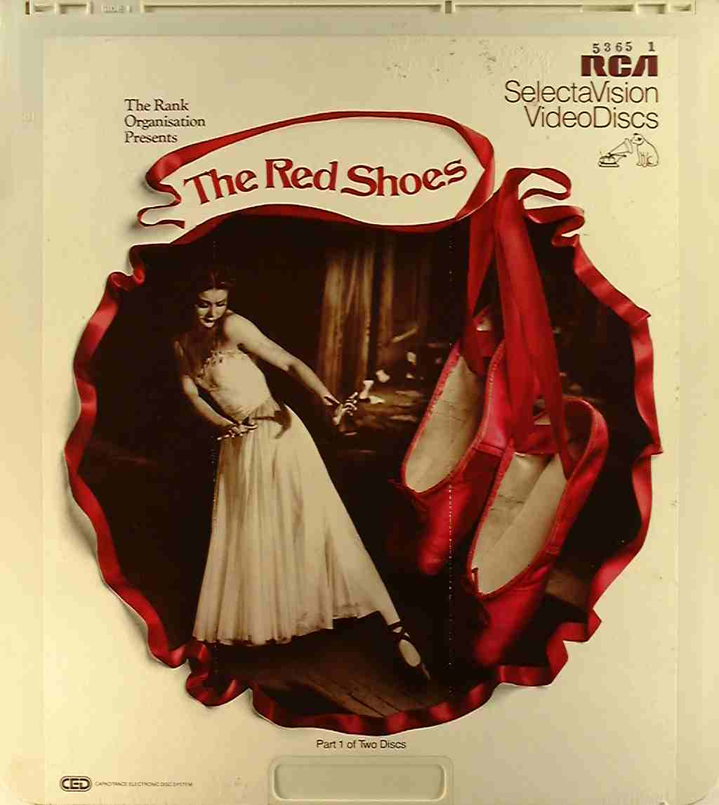 Red Shoes, The (2) {76476010010} U - Side 1 - CED Title - Blu-ray ...