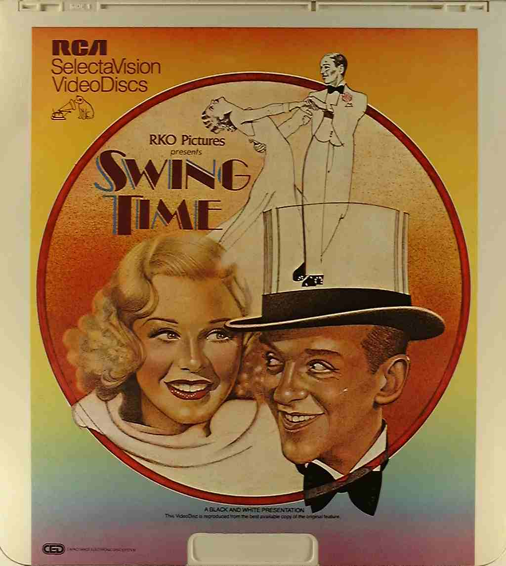 Swing Time {76476004057} C  Side 1  CED Title  Bluray