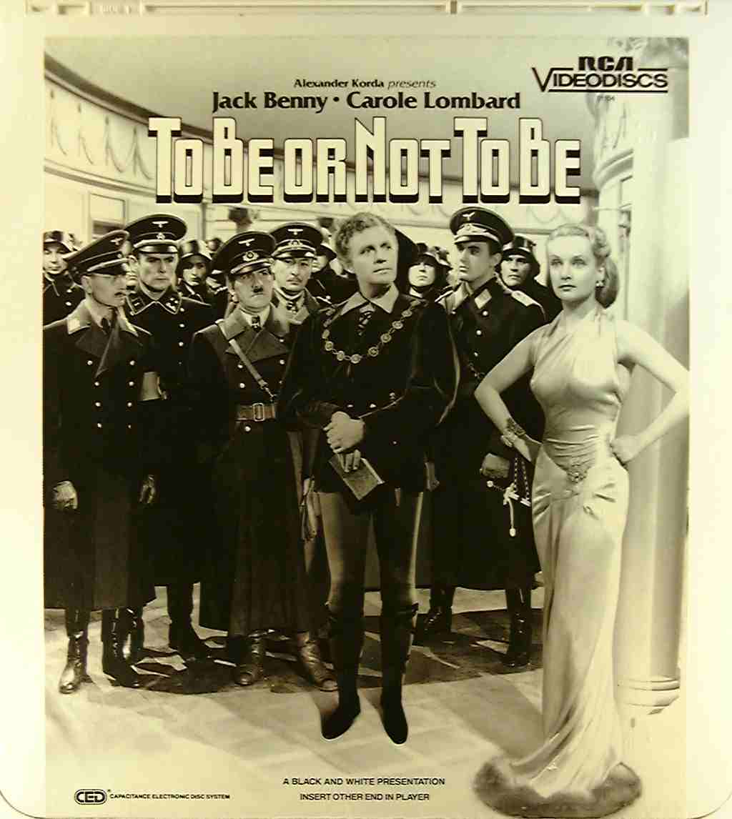 To Be Or Not To Be [1942] {76476011048} U - Side 1 - CED ...