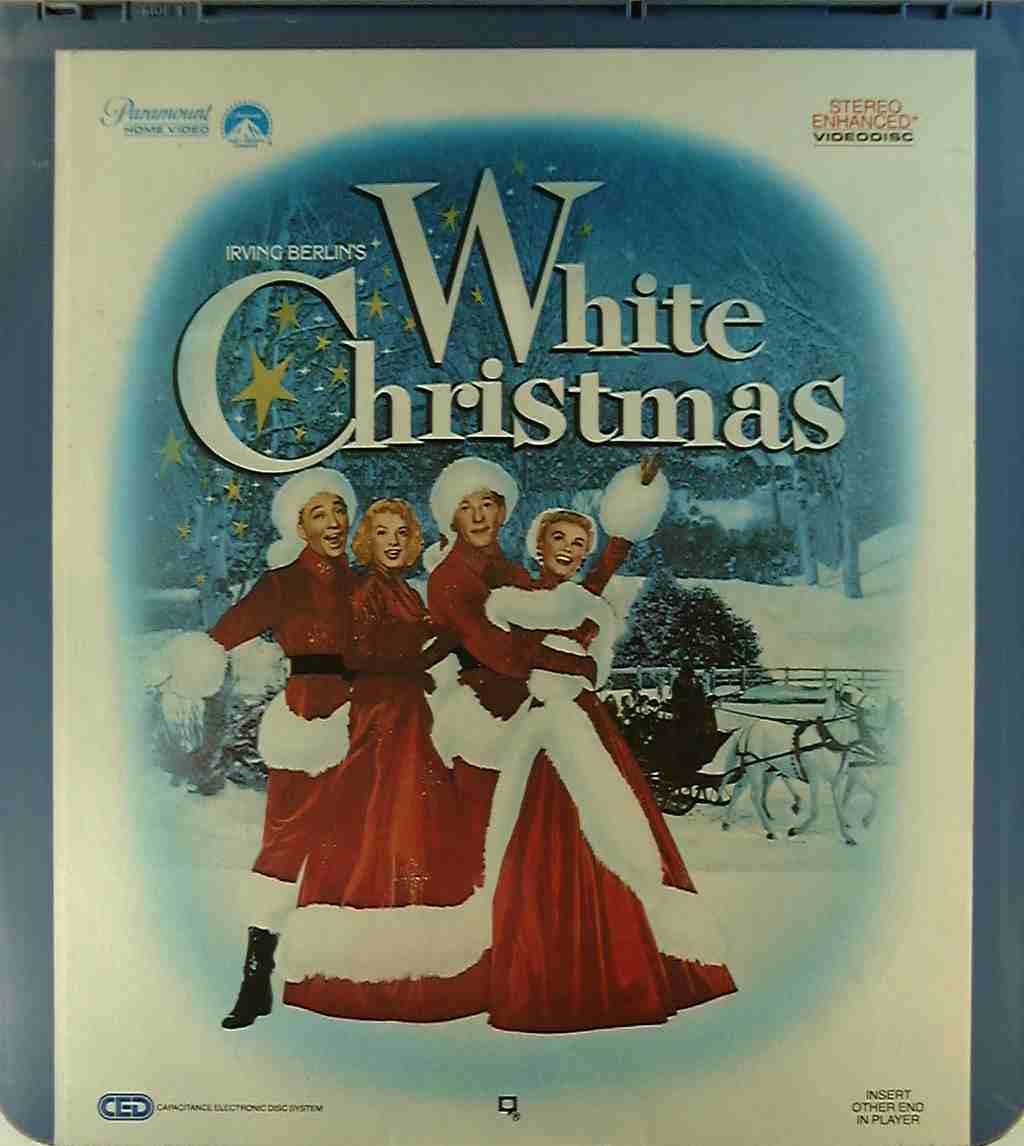 White Christmas*** {37757061046} R - Side 1 - CED Title - Blu-ray ...