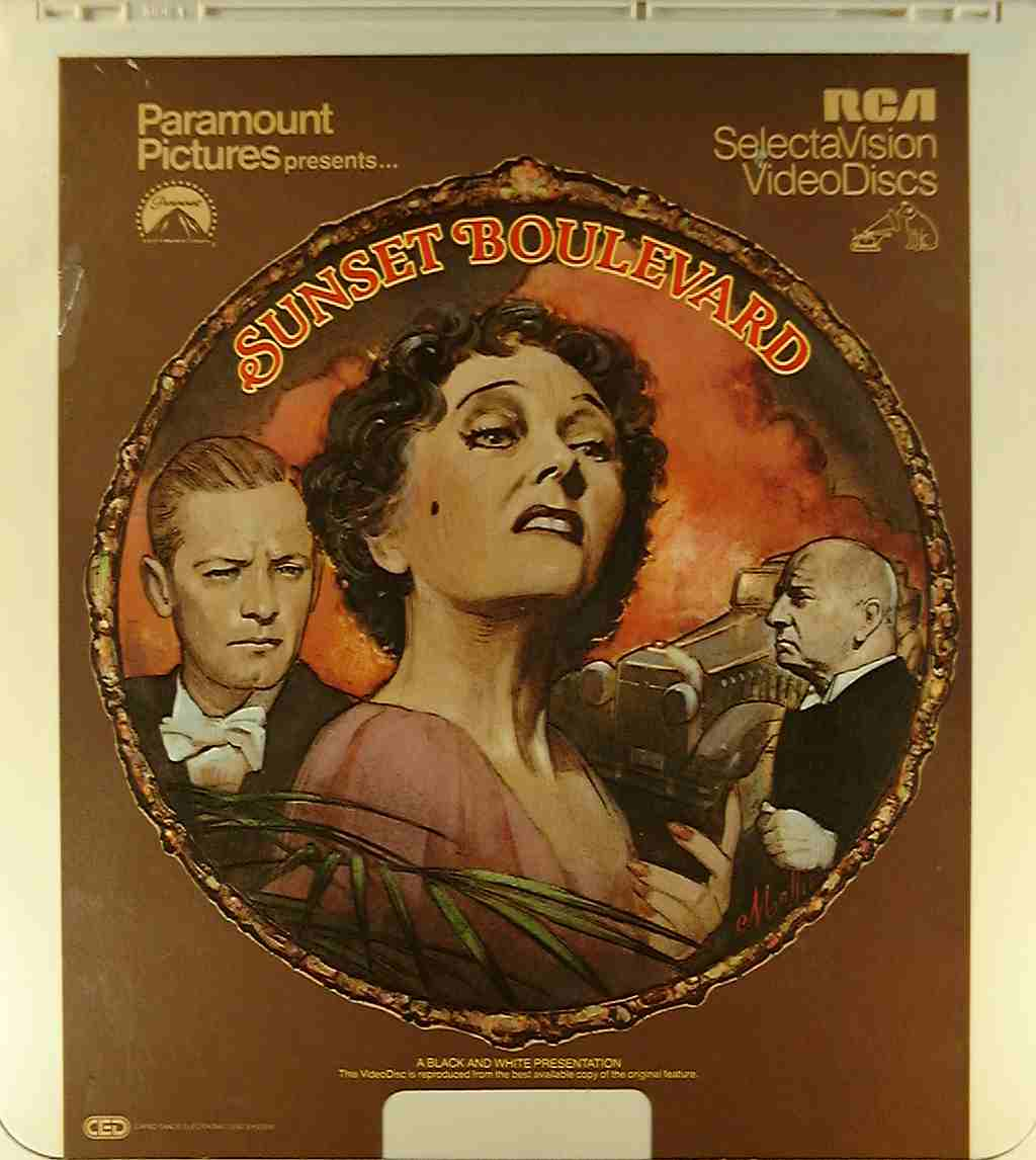 Sunset Boulevard {76476006280} C - Side 1 - CED Title - Blu-ray DVD
